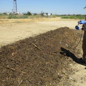Pila de Compostaje Controlado /  Composting pile trial