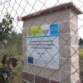 EDAR  de Aqualia en Lobón (Badajoz) / Aqualia  WWTP in Lobón (Badajoz)