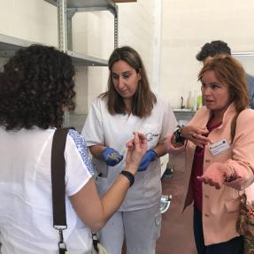 3ª visita seguimiento/3rd visit monitoring - Prototipo 1/Prototype 1 - CTAEX 10 May 2018