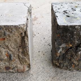 Hormigón convencional y hormigón con cenizas de biomasa / Conventional concrete and biomass fly ash concrete