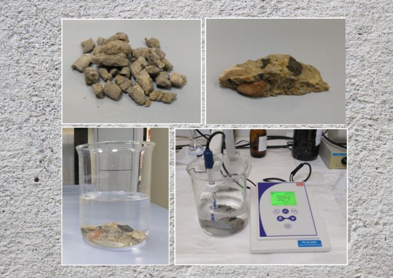 Ensayos de conformidad de lixiviación del hormigón con las cenizas volantes agregadas de biomasa /Conformity tests of leaching on concrete with added biomass fly ash