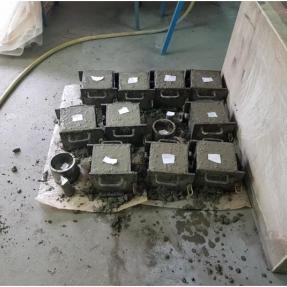 Probetas de hormigón con áridos ligeros artificiales procedente de cenizas de biomasa / Concrete specimens with artificial lightweight aggregate acides from biomass ash